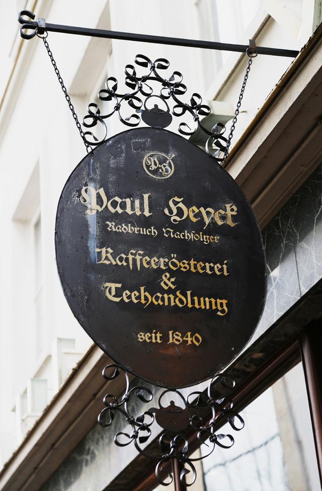 Heyck, Kiel, Kaffee, Tee, Rösterei