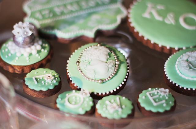 Hochzeit, perlen aus zucker, kiel, kekse