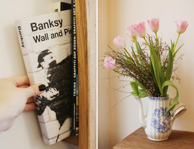 café hilda, café kiel, kiel, banksy
