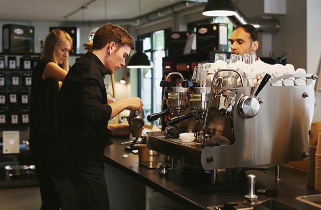 kaffeemanufaktur impuls, café, kiel