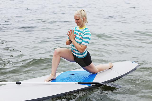 Seebar, Kiel, Sup Yoga